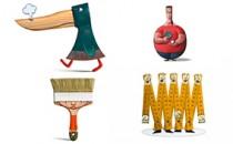 Họa sỹ người Pháp và sáng tạo không giới hạn từ những vật dụng hằng ngày