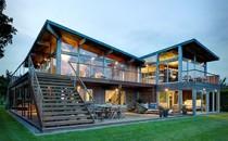 Far Pond – Ngôi nhà với kiến trúc độc đáo của nhóm KTS Bates Masi