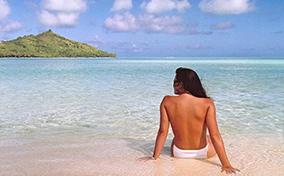 Bức ảnh đầu tiên được chỉnh sửa Photoshop – Jennifer in paradise