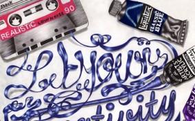 Cảm hứng Typography: Sức sống từ Chữ