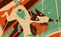 """Quá trình minh họa truyện ngắn """"Space dogs"""" của Steve Simpsons"""