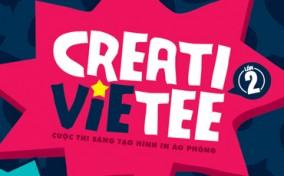 Tăng tốc cùng cuộc thi Thiết kế áo thun Creativietee 2014