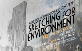 Workshop về Concept Art – Sketching for Environment