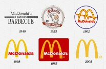 Sự 'tiến hóa' logo từ những thương hiệu hàng đầu thế giới