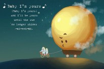 """Rồng Phạm và minh họa siêu dễ thương qua bài hát """"Baby I'm Yours"""""""
