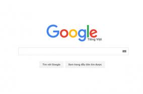 Google đổi logo mới