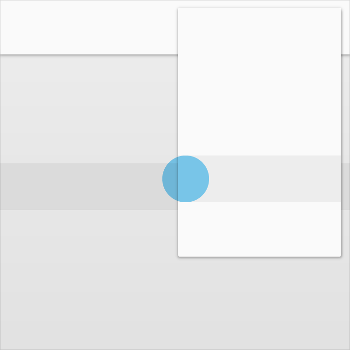 Don't: Những sự kiện đầu vào không thể xuyên qua chất liệu (input event)