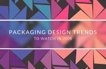 4 xu hướng thiết kế bao bì năm 2016