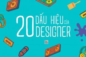 20 dấu hiệu cho thấy bạn là một designer