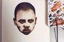 Những tác phẩm chân dung cuốn hút của họa sĩ Felipe Bedoya