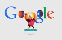 Google doodles Rio 2016