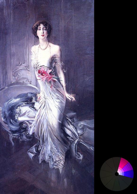 Tác phẩm của Giovanni Boldini – Chân dung quý bà E L Doyen