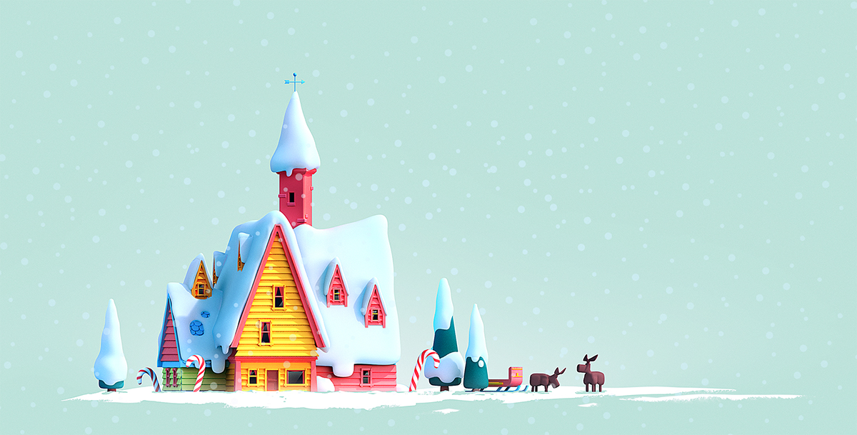 Santa's Home by Philipp Broemme