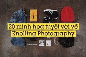 """20 minh hoạ tuyệt vời về """"Knolling"""" Photography"""