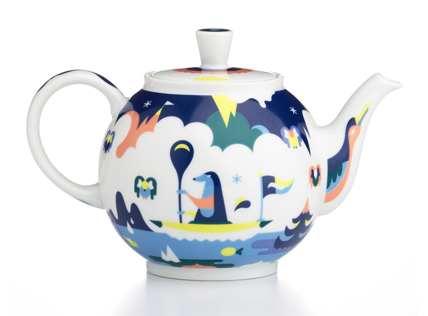 Crate & Barrel teapot by Janine Rewell
