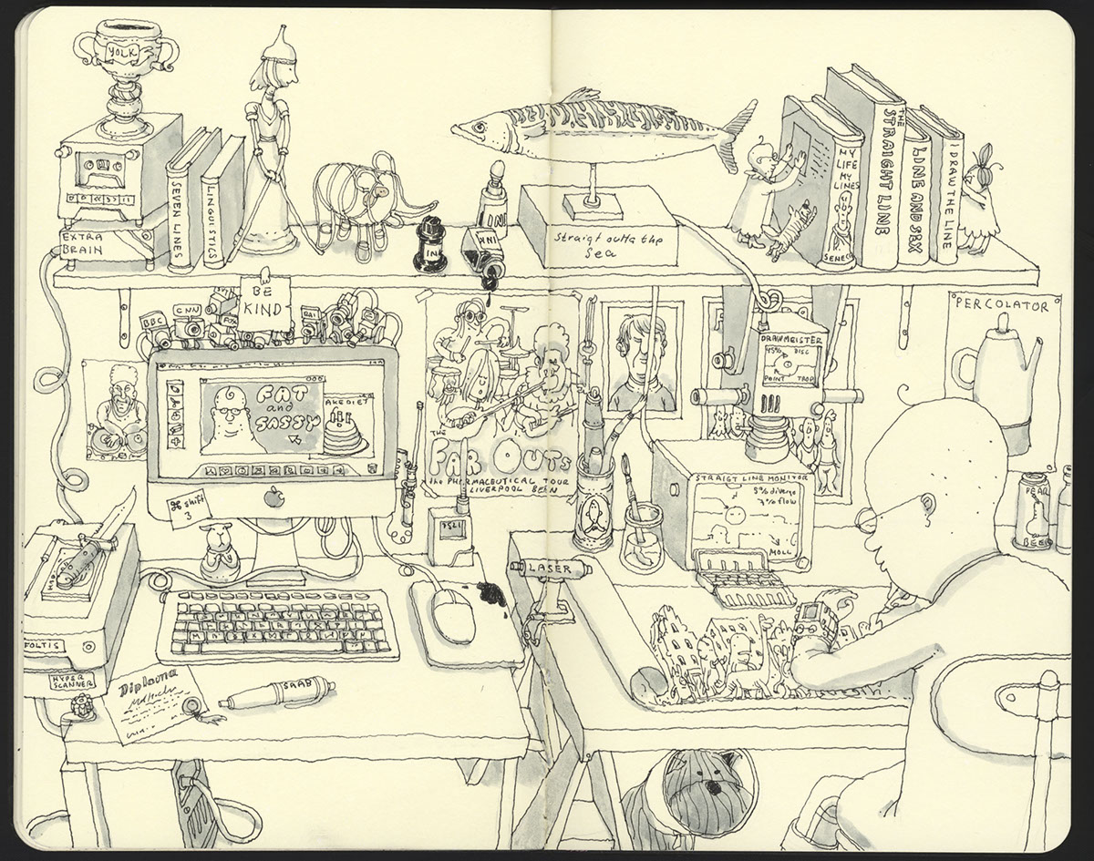 Travels east and west by Mattias Adolfsson