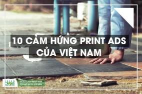 10 cảm hứng print-ad của Việt Nam