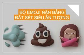 Bộ Emoji nặn bằng đất sét siêu ấn tượng