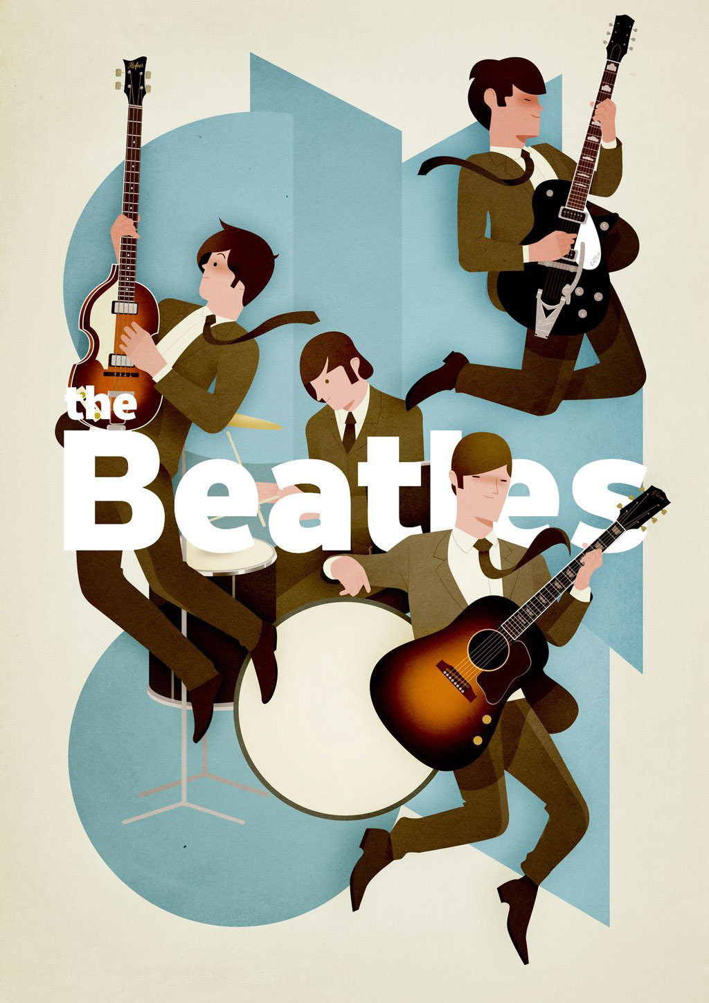 The Beatles by Andrew Lyons