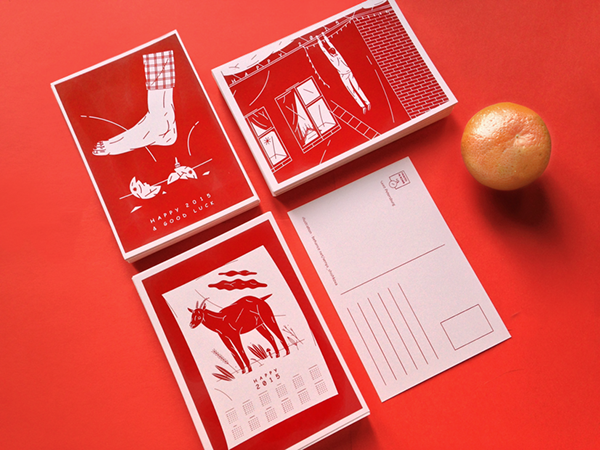 NY'15 Cards by Xenya Shishkova