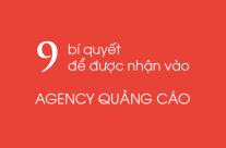 9 bí quyết để được nhận vào Agency quảng cáo