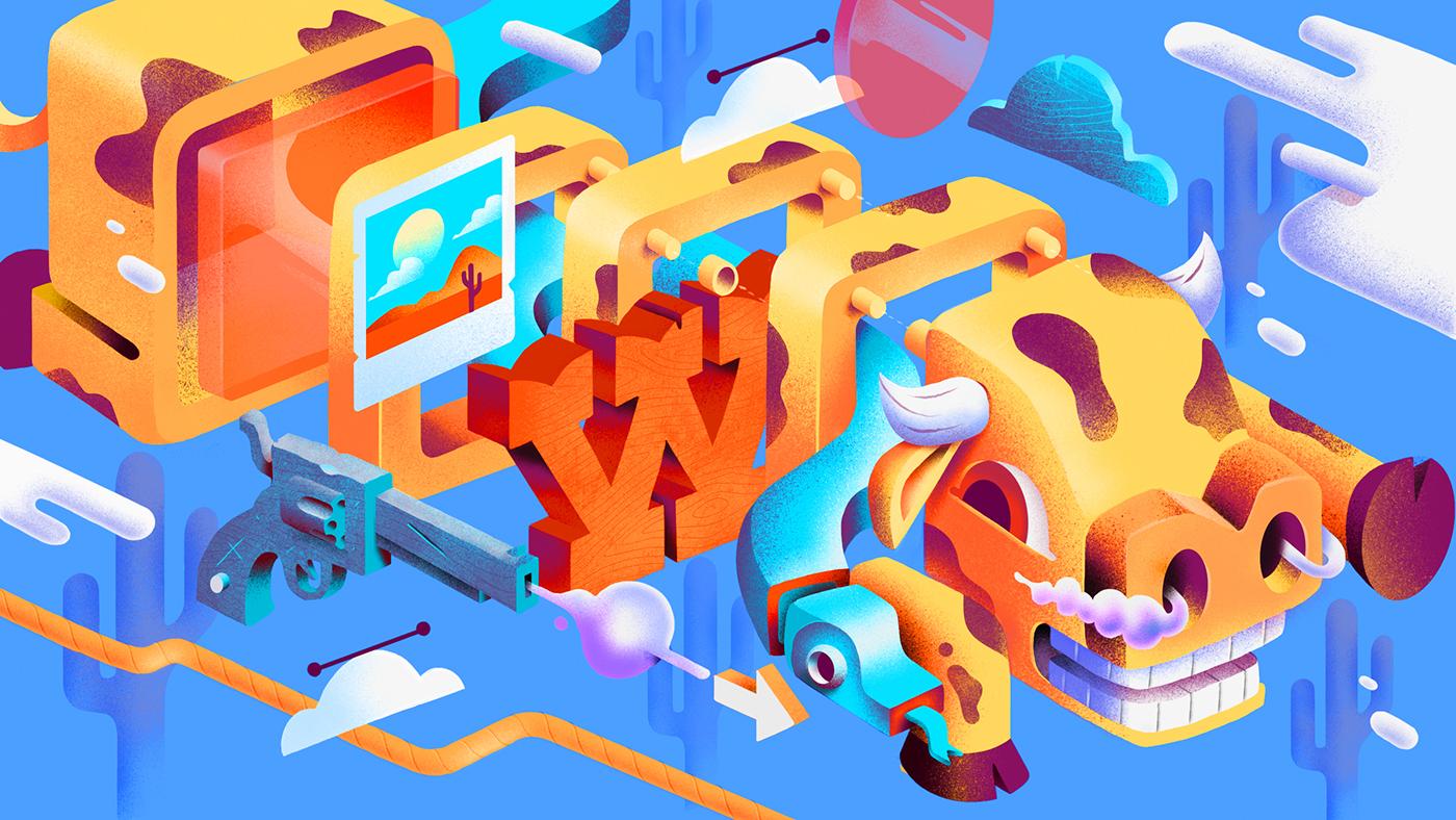 Adobe CC cover Illustrations 2016