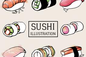 [Illustration] Bạn đã thưởng thức bao nhiêu hương vị Sushi?