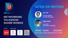 Sự kiện Design Cafe 5: UI/UX và Motion