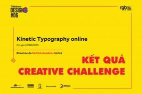 Công bố kết quả Creative Challenge tại talkshow DESIGN8 #6