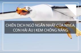"""Chiến dịch """"buồn cười"""" nhất của Nivea: Con hải âu ị kem chống nắng"""