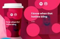 Ý tưởng Thiết kế hòa trộn Starbucks và Spotify từ Jack Lalley