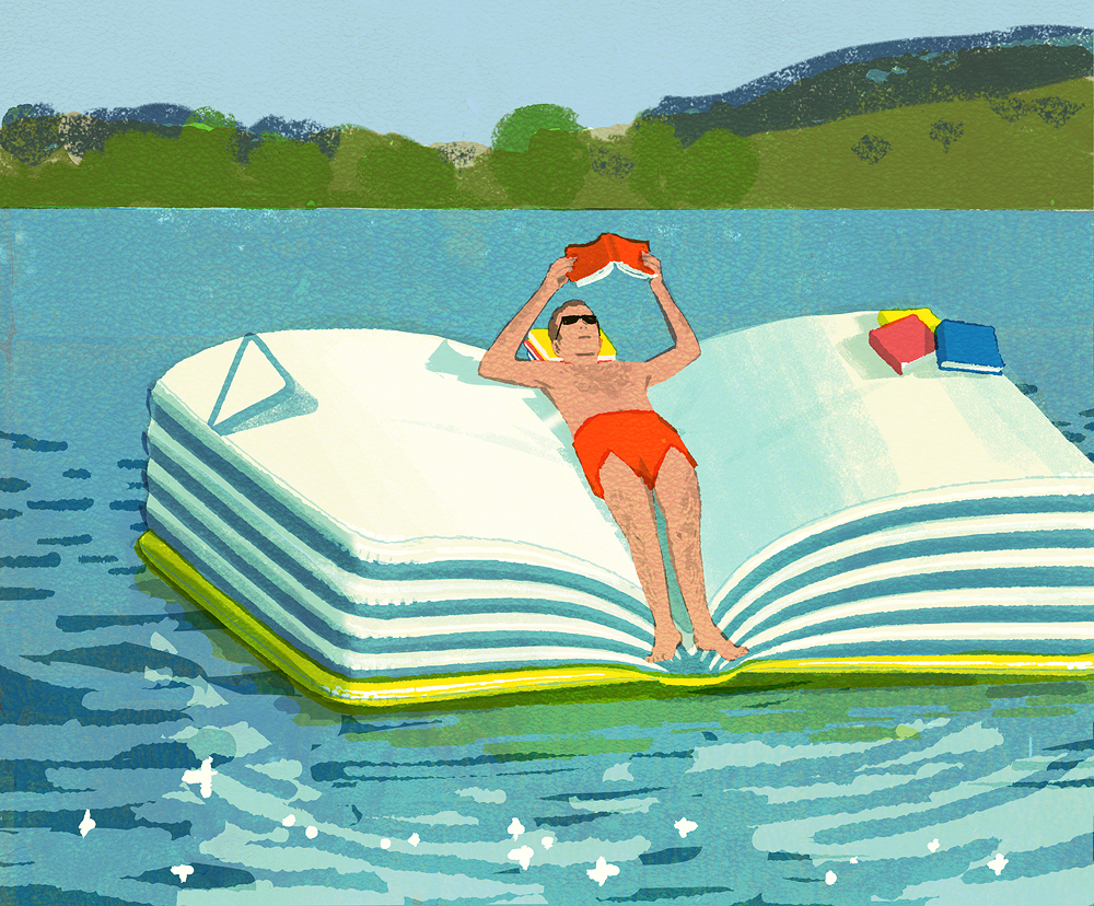 The End of the Ambitious Summer Reading List by Tatsuro Kiuchi