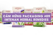 Cảm hứng Packaging #09: Imtenan Herbal Remedies