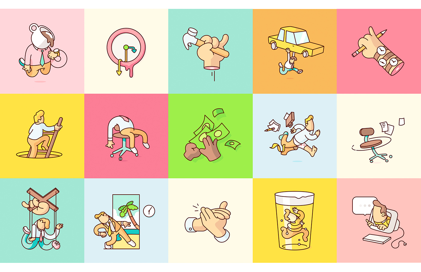 Google - Allo Sticker Set