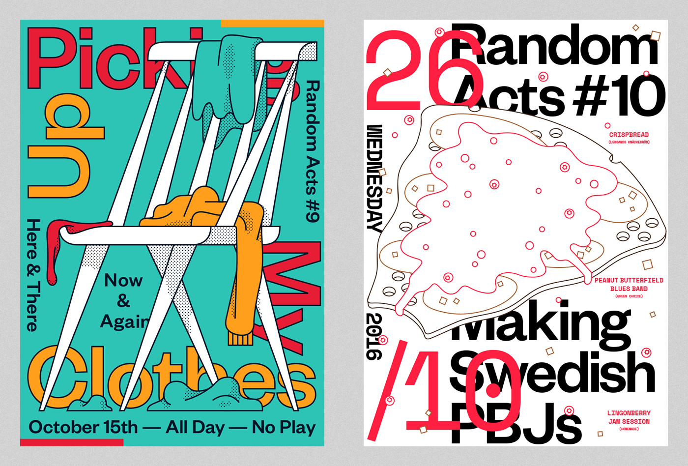 Random Acts Poster Series