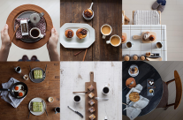 Flatlay: Câu chuyện bên những tách cà phê