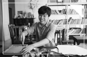 Đào Huy Hoàng và cái duyên với nghệ thuật Calligraphy