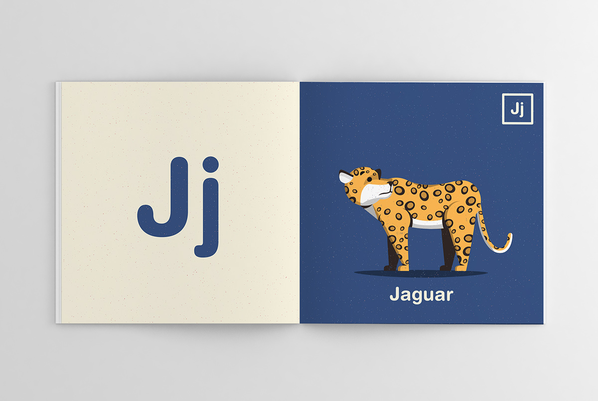 ABC Illustrated Animal Alphabet