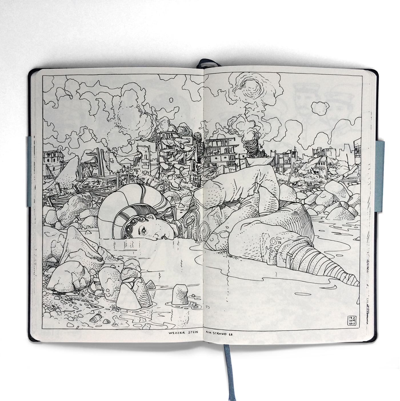 Sketch Book publication - 2013