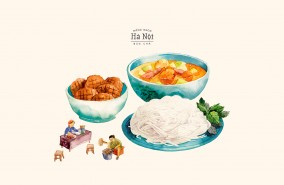 Bộ lịch: A Taste of Hanoi
