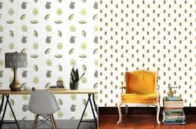 Những mẫu thiết kế giấy dán tường độc đáo từ Kate Zaremba