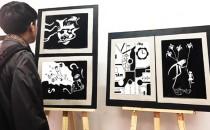 Triển lãm tranh của sinh viên Đại học FPT