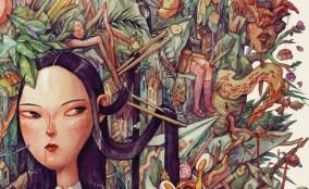 Cảm hứng từ tranh vẽ bằng màu nước của Marija Tiurina