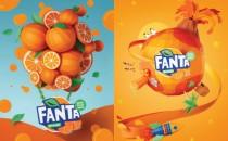 Thế giới hương vị của Fanta với chất liệu từ giấy