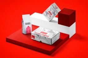Thiết kế nhận diện thương hiệu và bao bì của nhãn hàng Cocora Coffee
