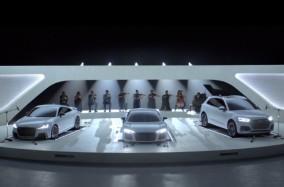Khi động cơ xe Audi hòa quyện cùng âm nhạc