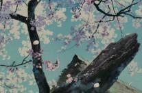 """Tư Liệu Hoạt Hình   Bộ sưu tập các cảnh nền từ bộ phim """"Cuộc chiến gấu trúc"""" của Studio Ghibli"""