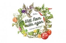 """Dự án minh họa """"Việt Nam miền ngon"""""""