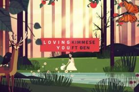 """""""Loving You"""" – Một Animated Music Video đặc sắc do Glowing Studio thực hiện"""