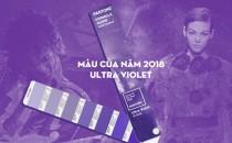 Màu sắc của Năm 2018 – Ultra Violet vừa được Pantone công bố
